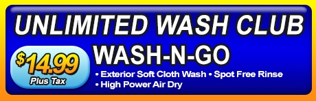 Wash-N-Go Unlimited Wash Club