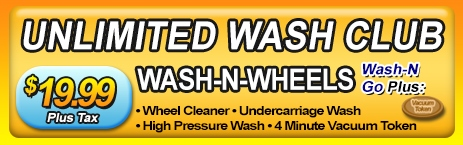 Wash-N-Wheels Unlimited Wash Club